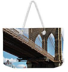 The Majestic Brooklyn Bridge Weekender Tote Bag