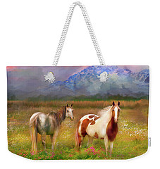 The Majestic Pasture Weekender Tote Bag by Kari Nanstad