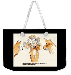 The Mall Opportune Weekender Tote Bag