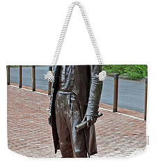 The Man Behind Monticello Weekender Tote Bag