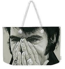 The Man Behind The Legend Weekender Tote Bag