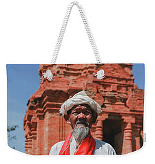 The Man Holds The Tower Champa Weekender Tote Bag