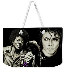 The Man In The Mirror Weekender Tote Bag