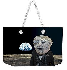 The Man In The Moon Weekender Tote Bag