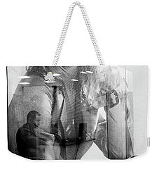 Weekender Tote Bag featuring the photograph The Man Inside Me by John Williams