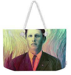 The Man With The Eyes Weekender Tote Bag by Matt Lindley