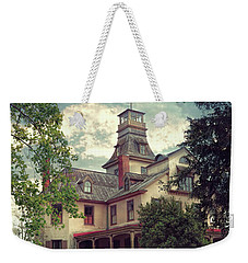 The Mansion Weekender Tote Bag by John Rivera
