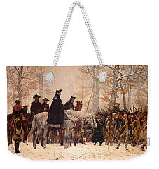 The March To Valley Forge Weekender Tote Bag