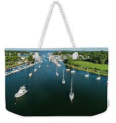 The Marina In Mamaroneck Weekender Tote Bag