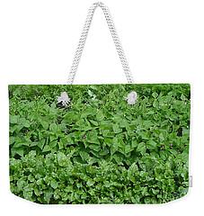 The Market Garden Landscape Weekender Tote Bag