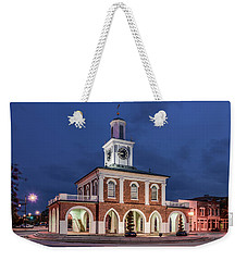 The Market House Weekender Tote Bag by Rob Sellers