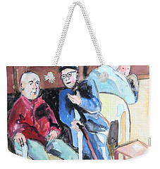 The Market Parliament Weekender Tote Bag by Esther Newman-Cohen