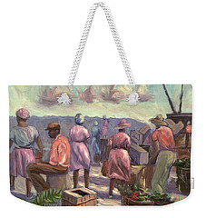 The Marketplace Weekender Tote Bag