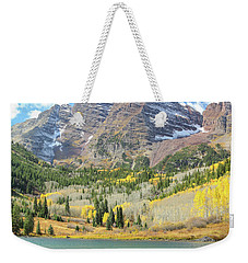 The Maroon Bells 2 Weekender Tote Bag