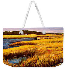 The Marsh At Cherry Grove Myrtle Beach South Carolina Weekender Tote Bag