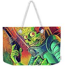 The Martian - Mars Attacks Weekender Tote Bag by Taylan Apukovska