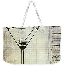 The Martini Weekender Tote Bag by Jon Neidert