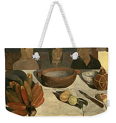 The Meal Weekender Tote Bag by Paul Gauguin