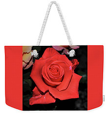 The Meaning Of A Red Rose Weekender Tote Bag