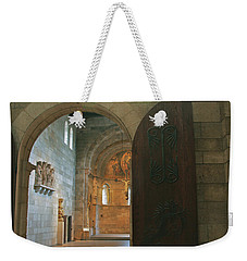 An Early Morning At The Medieval Abbey Weekender Tote Bag