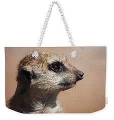 The Meerkat Da Weekender Tote Bag by Ernie Echols