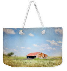 Weekender Tote Bag featuring the photograph The Meeting Place by Betty LaRue