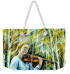 The Melody Of Autumn Weekender Tote Bag
