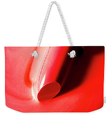 Weekender Tote Bag featuring the photograph The Melting Point Of Hot Fashion by Jorgo Photography - Wall Art Gallery