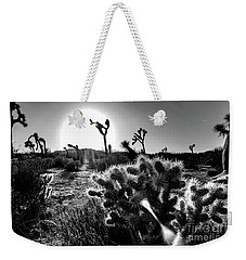 Merciless, Black And White Weekender Tote Bag