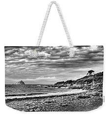 The Mewstone, Wembury Bay, Devon #view Weekender Tote Bag