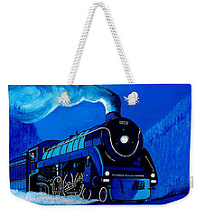 The Midnight Express Weekender Tote Bag