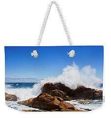 Weekender Tote Bag featuring the photograph The Might Of The Ocean by Jorgo Photography - Wall Art Gallery