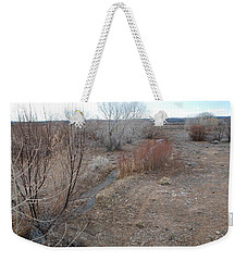 Weekender Tote Bag featuring the photograph The Mighty Santa Fe River by Rob Hans