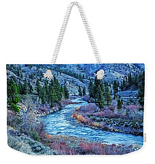 The Mighty Truckee Weekender Tote Bag by Nancy Marie Ricketts