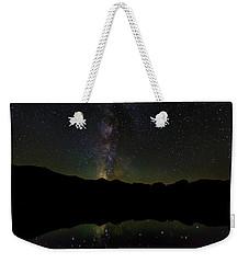 The Milky Way At Sprague Lake Weekender Tote Bag