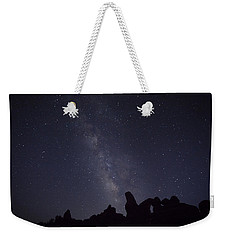 The Milky Way Over Turret Arch Weekender Tote Bag
