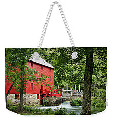 The Mill At Alley Spring Weekender Tote Bag by Cricket Hackmann