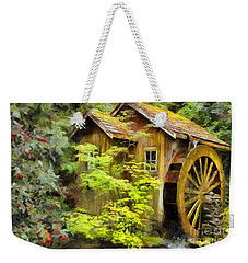 The Mill Weekender Tote Bag by Eva Lechner
