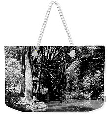 The Mill Wheel Weekender Tote Bag