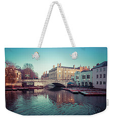 The Millpond Cambridge Weekender Tote Bag by David Warrington