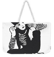 The Mime Weekender Tote Bag