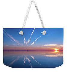 The Mirror Weekender Tote Bag by Thierry Bouriat