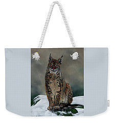 The Missing Lynx Weekender Tote Bag