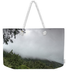 The Mist On The Mountain Weekender Tote Bag