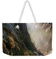 The Mist Trail Weekender Tote Bag