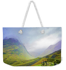 The Mists Of Rannoch Moor Weekender Tote Bag