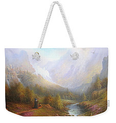 The Misty Mountains Weekender Tote Bag by Joe  Gilronan