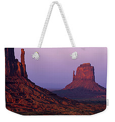 Weekender Tote Bag featuring the photograph The Mittens by Chad Dutson