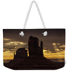 The Mittens Sunrise Weekender Tote Bag
