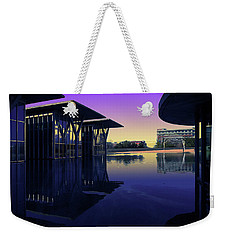 Weekender Tote Bag featuring the photograph The Modern, Fort Worth, Tx by Ricardo J Ruiz de Porras